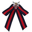 Χαμηλού Κόστους Τσαντάκια & Βραδινές Τσάντες-Γυναικεία Cubic Zirconia Καρφίτσες Πεταλούδα Μοντέρνο Καρφίτσα Κοσμήματα Μπλε / Κόκκινο Πράσινο / Κόκκινο Για Χριστούγεννα Πάρτι Αργίες Δουλειά Φεστιβάλ