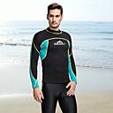 ราคาถูก ชุดดำน้ำ-SBART สำหรับผู้ชาย ชุดดำน้ำยอดนิยม 2mm SCR Neoprene Tops รักษาให้อุ่น แขนยาว การดำน้ำ Surfing Snorkeling ฤดูใบไม้ร่วง ฤดูใบไม้ผลิ ฤดูร้อน / ผสมยางยืดไมโคร