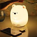 Χαμηλού Κόστους Βρεφικά και παιδικά φώτα νυχτός-1pc Νυχτικό φως νυχτών / Φώτα νύχτας μωρών & παιδιών Θερμό Λευκό / Ψυχρό Λευκό USB Για παιδιά / Κινούμενα σχέδια / Με θύρα USB <5 V