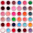 Χαμηλού Κόστους Ανώτατα φώτα οροφής-lilyangel 36 χρώματα σετ πηκτής χρώματος νυχιών τέχνης πολύχρωμο πηκτωμα ζωγραφικής υψηλής ποιότητας νυχιών uv στιλπνότητα γέλη