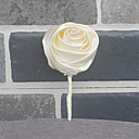 ราคาถูก ดอกไม้งานแต่งงาน-ดอกไม้สำหรับงานแต่งงาน ช่อดอกไม้ที่ใช้ติดเสื้อเจ้าบ่าวและญาติที่เป็นผู้ชายของเจ้าบ่าวและเจ้าสาว งานแต่งงาน แพรต่วน / ลูกปัด 0-10 ซม.