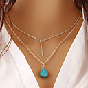 povoljno Modne ogrlice-Žene Ogrlica Krom Zlato 68+5 cm Ogrlice Jewelry 1pc Za Dar Dnevno Rad Obećanje Festival