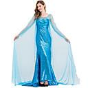 Χαμηλού Κόστους Περούκες από Ανθρώπινη Τρίχα-Πριγκίπισσα Στολές Ηρώων Χορός μεταμφιεσμένων Γυναικεία Στολές Ηρώων Ταινιών Στολές Ηρώων Halloween Μπλε Φόρεμα Halloween Απόκριες Μασκάρεμα Τούλι Πολυεστέρας