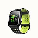 billige Bryllupsblomster-WEILE Hey 3S Menn kvinner Smartklokke Android iOS WIFI Bluetooth Vanntett Pekeskjerm GPS Pulsmåler Blodtrykksmåling EKG + PPG Stoppeklokke Stopur Pedometer Samtalepåminnelse