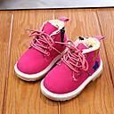 Χαμηλού Κόστους Παιδικές μπότες-Αγορίστικα / Κοριτσίστικα Μπότες Μάχης Σουέτ Μπότες Νήπιο (9m-4ys) / Τα μικρά παιδιά (4-7ys) Καφέ / Μαύρο / Φούξια Φθινόπωρο / Χειμώνας / Μποτίνια / Καοτσούκ