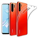 billige Etuier/deksler til Huawei-Etui Til Huawei Huawei P30 Pro Ultratynn / Matt Bakdeksel Ensfarget TPU