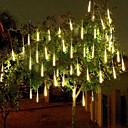 povoljno LED svjetla u traci-4 paketa 50cm x10 20 inčni tuš kišne svjetiljke 540 led padajuće meteorske kiše za prazničnu zabavu Halloween božićno drvce ukras vodootporan