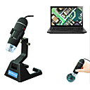 billige Mikroskop og endoskop-s09 8led usb digital elektronisk mikroskop zoom endoskop forstørrelse mikroskop justerbar stativ ekte 2mp videokamera mikroskopi