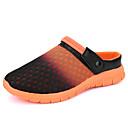 ราคาถูก รองเท้าClogs & Mulesสำหรับผู้ชาย-สำหรับผู้ชาย รองเท้าสบาย ๆ ถัก / ตารางไขว้ ฤดูร้อนฤดูใบไม้ผลิ ไม่เป็นทางการ รองเท้าไม้ & รองเท้าหัวทู่ ระบายอากาศ สีฟ้า / สีดำ / สีเขียว / สีดำ / สีน้ำเงิน