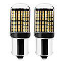baratos Lâmpadas LED em Forma de Espiga-2pcs 1156 / 7440 Carro Lâmpadas 22 W SMD 3014 144 LED Lâmpada de Seta / Luzes de freio / Invertendo (backup) luzes Para Universal Todos os Anos