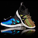 Χαμηλού Κόστους Παιδικά αθλητικά παπούτσια-Αγορίστικα LED / Φωτιζόμενα παπούτσια PU Αθλητικά Παπούτσια Μεγάλα παιδιά (7 ετών +) Πούλιες / LED Μαύρο / Λευκό Φθινόπωρο / Χειμώνας / Καοτσούκ