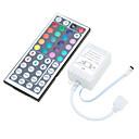 baratos Moldes para Bolos-1pç Controlado remotamente / Faça Você Mesmo / Decoração Plástico Controle para luz de tira conduzida do RGB / para luz de tira do diodo emissor de luz 2 W