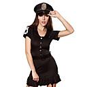 baratos Bijuteria Religiosa-Mulheres Policial Adulto Uniformes Sensuais Fantasias de Cosplay Vestido Chapéu Cinto