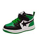 ราคาถูก รองเท้าผ้าใบเด็ก-เด็กผู้ชาย / เด็กผู้หญิง ความสะดวกสบาย Synthetics รองเท้าผ้าใบ เด็กน้อย (4-7ys) / Big Kids (7 ปี +) สีดำ / แดง / สีเขียว ตก / ลายบล็อคสี / TPR (ยางเทอร์โมพลาสติก)