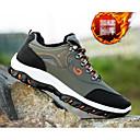 ราคาถูก รองเท้ากีฬาสำหรับผู้ชาย-สำหรับผู้ชาย รองเท้าสบาย ๆ PU ตก รองเท้ากีฬา เดินป่า สีดำ / สีเขียวอ่อน / สีเหลือง / การกรีฑา