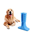 billiga Hundleksaker-Tuggleksaker Städning tandborstar Hund Husdjur Leksaker 1st Husdjursvänlig Bärbar Djur Full Body Silicone Kiselgel Present