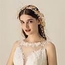 Χαμηλού Κόστους Γυναικεία παπούτσια γάμου-Χρωματιστό βερνίκι / Κράμα Κεφαλές / Τεμάχια Κεφαλής με Κρύσταλλο / Στρας / Μέταλλο 1 Τεμάχιο Γάμου Headpiece