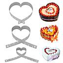 Χαμηλού Κόστους Βάζα & Καλάθι-1pc Ανοξείδωτο Ατσάλι Πολυλειτουργία Φτιάξτο Μόνος Σου Πολυλειτουργία για κέικ Καλούπια τούρτας Εργαλεία ψησίματος