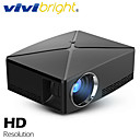 cheap Projectors-VIVIBRIGHT C80/UP MINI Projector, 1280x720P Resolution, Android WIFI Proyector, LED Portable 3D Beamer for 4K Home Cinema,  Support 1080P, HDMI, USB, AV, VGA Port, Optional C80 C80UP