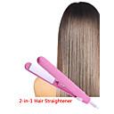 baratos Esmalte e Gel para Unhas-1 pcs modelador de cabelo alisador de cabelo mini multifuncional cerâmica flat iron hair styler