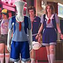 Χαμηλού Κόστους Παιχνίδια που Διώχνουν το Στρες-Ξέγαινα πράγματα Κοστούμια με Θέμα Ταινίες & Τηλεόραση Ναυτικό Σύνολα Γυναικεία Στολές Ηρώων Ταινιών Χαλάρωση Μπλε Γιλέκο Παντελόνια Κάλτσες Halloween Μασκάρεμα Ελαστίνη / Φανέλα / Σκουφί