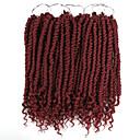 """ราคาถูก วิกผมเปีย-Braiding Hair ความหงิก Braids บิด สังเคราะห์ ผม Kanekalon 100% 1 ชิ้น Braids ผม ดำ 12"""" ผู้หญิง ผม Braiding Ombre ผม Kanekalon 100% ที่มา Braids แอฟริกัน"""