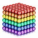 povoljno Magnetne igračke-125 pcs 5mm Magnetne igračke Magnetske kuglice Kocke za slaganje Snažni magneti Magnetska igračka Magnet Chic & Moderna Visoka kvaliteta Dječji / Odrasli Dječaci Djevojčice Igračke za kućne ljubimce