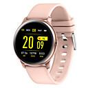 Χαμηλού Κόστους Έξυπνα Ρολόγια-kw19 έξυπνο watch bt fitness tracker υποστήριξη ειδοποίηση / καρδιακός ρυθμός παρακολούθηση αθλητισμός bluetooth smartwatch συμβατό τηλέφωνο ios / android