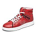 Χαμηλού Κόστους Αντρικά Αθλητικά-Ανδρικά Παπούτσια άνεσης PU Φθινόπωρο Καθημερινό Αθλητικά Παπούτσια Μη ολίσθηση Κόκκινο