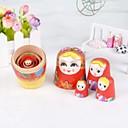 ราคาถูก ฟิกเกอร์ไดโนเสาร์-ชุดneewer® 5 น่ารักตุ๊กตาทำรัง Matryoshka บ้าตุ๊กตารัสเซีย