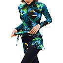 baratos Roupas de Mergulho & Camisas de Proteção-JIAAO Mulheres Segunda-pele para Mergulho Roupas de Mergulho Térmico / Quente Proteção Solar UV 4 Peças - Mergulho Retalhos Outono Primavera Verão / Com Stretch