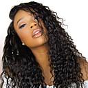 זול פיאות תחרה משיער אנושי-שיער אנושי תחרה מלאה פאה חלק חינם בסגנון שיער ברזיאלי מתולתל שחור פאה 130% צפיפות שיער נשים בגדי ריקוד נשים ארוך פיאות תחרה משיער אנושי Clytie