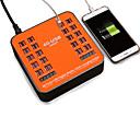 Χαμηλού Κόστους Αυτοκίνητο Διακόσμηση και Προστασία Σώματος-40 θύρα usb 5v / 40a πρίζα φορτιστή με την τρέχουσα τάση lcd οθόνη για το έξυπνο κινητό τηλέφωνο tablet PC