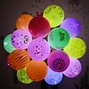 billiga Artificiell Blomma-12 st led ballonglampor blinkar lysande lampor lykta bar födelsedag bröllop fest dekoration papper lykta ballongljus