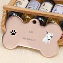 baratos Acessórios para animais de estimação gravados-Personalizado Personalizado Bull Terrier Pet Tags Clássico Presente Diário 1pcs Dourado Prata Rosa Dourado