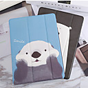 baratos caso do iPad-caso para apple ipad 2/3/4 / ar / ar 2 / mini 1/2/3 / mini 4 / mini 5 / ipad (2018) / ipad (2017) à prova de poeira / com suporte / padrão casos de corpo inteiro cartoon pu leather / tpu