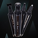 billige Putevar-4 i 1 flerfunksjon trimmer vanntett ladbar barbermaskin nes hår styling kniv hjørnekniv trimmer