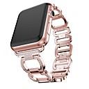 Χαμηλού Κόστους Βάσεις και κάτοχοι Smartwatch-Παρακολουθήστε Band για Apple Watch Series 5/4/3/2/1 Apple Σχεδιασμός κοσμημάτων Ανοξείδωτο Ατσάλι Λουράκι Καρπού
