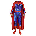 cheap Zentai Suits-Inspired by Cosplay Super Heroes Anime Cosplay Costumes Japanese Cosplay Suits Cloak / Zentai For Men's