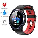 Χαμηλού Κόστους TWS Αληθινά ασύρματα ακουστικά-w4 έξυπνο watch bt fitness tracker υποστήριξη ειδοποίηση / καρδιακός ρυθμός οθόνη αθλητισμός smartwatch συμβατό iphone / samsung / android τηλέφωνα