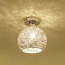 billige Island Lights-taklampe i aluminium globus montert taklamper omgivelseslys elektroplet metalllamper for veranda korridor