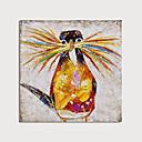 billige Bormaskiner-Hang malte oljemaleri Håndmalte - Abstrakt Dyr Moderne Inkluder indre ramme