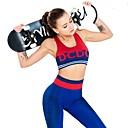 Χαμηλού Κόστους Τσάντες Tote-Γυναικεία Κοστούμι γιόγκα Μοντέρνα Τρέξιμο Fitness Γυμναστήριο προπόνηση Κολάν Σουτιέν Top Ρούχα σύνολα Ρούχα Γυμναστικής Αναπνέει Ύγρανση Γρήγορο Στέγνωμα Αντίστροφη καρότσα Μικροελαστικό
