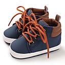 Χαμηλού Κόστους Αντρικά Αθλητικά Παπούτσια-Αγορίστικα Πρώτα Βήματα Βαμβάκι / PU Μπότες Βρέφη (0-9m) / Νήπιο (9m-4ys) Μαύρο / Σκούρο μπλε / Γκρίζο Φθινόπωρο / Χειμώνας