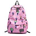 ราคาถูก School Bags-กันน้ำ ฟอร์ด แพทเทิร์นหรือลายพิมพ์ กระเป๋าโรงเรียน รูปเรขาคณิต โรงเรียน สีม่วง / สีบานเย็น / น้ำเงินท้องฟ้า / ฤดูใบไม้ร่วง & ฤดูหนาว