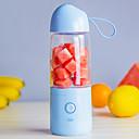 Χαμηλού Κόστους Μοτοσυκλέτα & Εξαρτήματα ATV-Μπουκάλι αποχυμωτή φρούτων 0.55 L Μονό Φορητό Ανθεκτικό Για 1 άτομο Πλαστικά Κράμα ΕΞΩΤΕΡΙΚΟΥ ΧΩΡΟΥ Κατασκήνωση & Πεζοπορία Για Υπαίθρια Χρήση Πικνίκ Μπλε Απαλό Βιολετί Ροζ