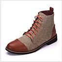 povoljno Muške čizme-Muškarci Vojničke čizme Pamuk Jesen zima Čizme Ugrijati Čizme gležnjače / do gležnja Crn / Plava / Sive boje