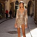 お買い得  ファッションピアス・イヤリング-女性用 ベーシック シース ドレス ソリッド ミニ