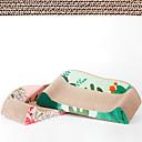 Χαμηλού Κόστους Γάτα Κρεβάτια & Αντικείμενα μεταφοράς-Παιχνίδια για μάσημα Ξύρισμα πίνακα Σκυλιά Γάτες Κατοικίδια Παιχνίδια 1pc Φιλικό προς τα Κατοικίδια Πολλαπλών στρώσεων Ανακυκλωμένο Χαρτί Δώρο