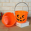 Χαμηλού Κόστους Προμήθειες Πάρτι Halloween-Διακόσμηση Διακοπών Απόκριες διακοσμήσεις Διακοσμητικά αντικείμενα Χειρός Πορτοκαλί 1pc